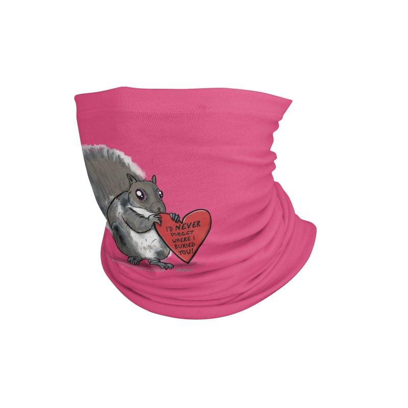 ValentineSquirrel Accessories Neck Gaiter by The Underdone Comics Shop