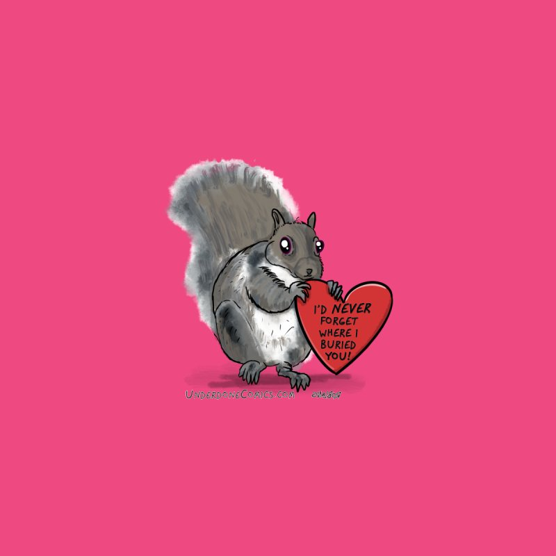 ValentineSquirrel Home Rug by The Underdone Comics Shop