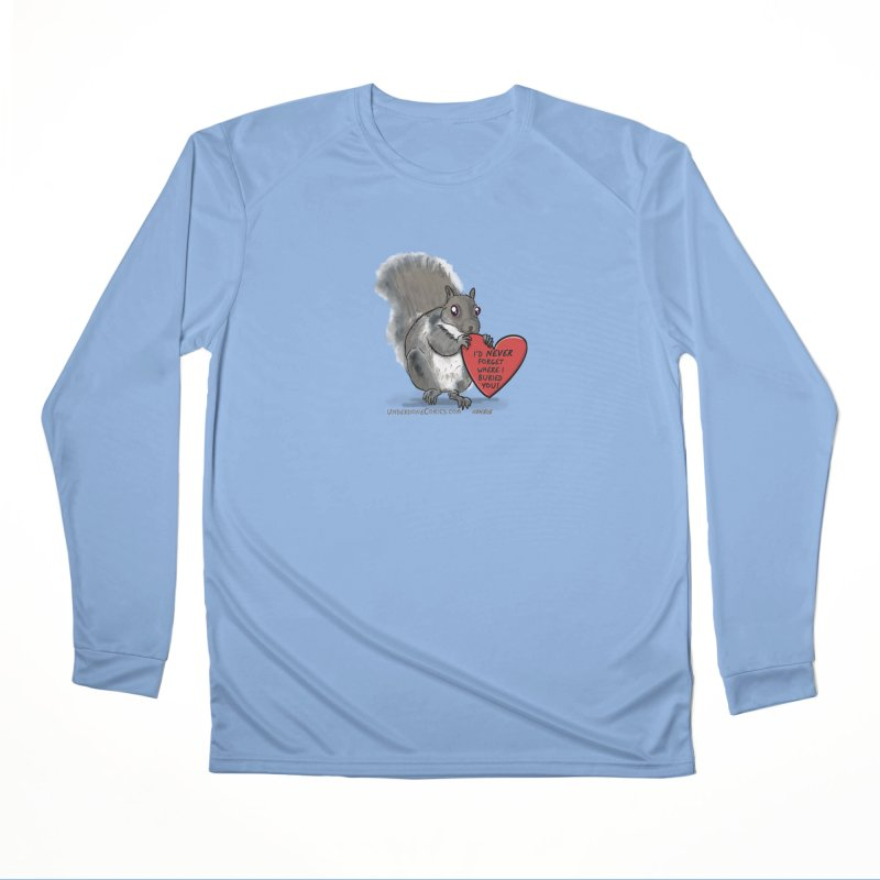 ValentineSquirrel Men's Longsleeve T-Shirt by The Underdone Comics Shop