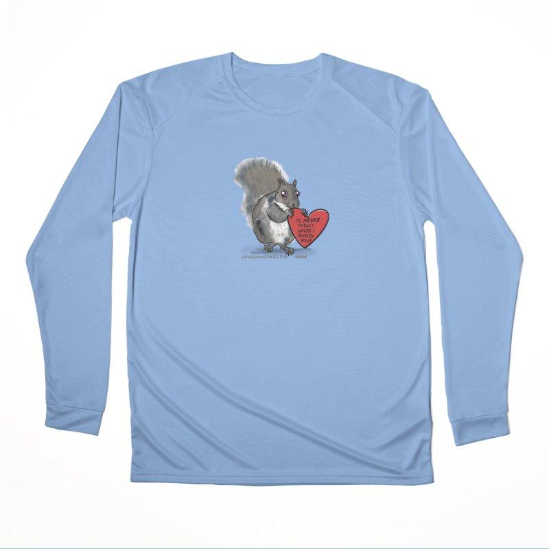 ValentineSquirrel Women's Longsleeve T-Shirt by The Underdone Comics Shop