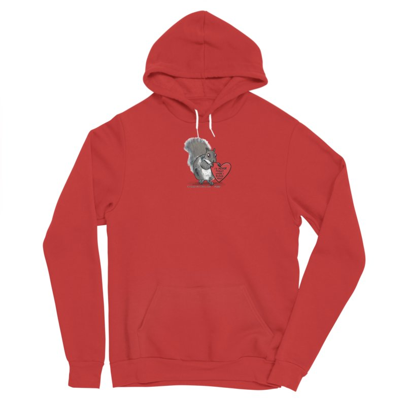 ValentineSquirrel Women's Pullover Hoody by The Underdone Comics Shop