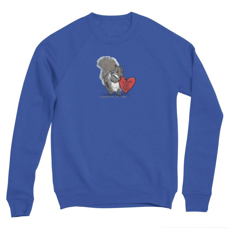 ValentineSquirrel Women's Sweatshirt by The Underdone Comics Shop