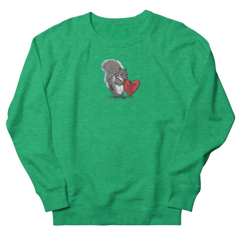 ValentineSquirrel Women's Sweatshirt by The Underdone Comics Shop