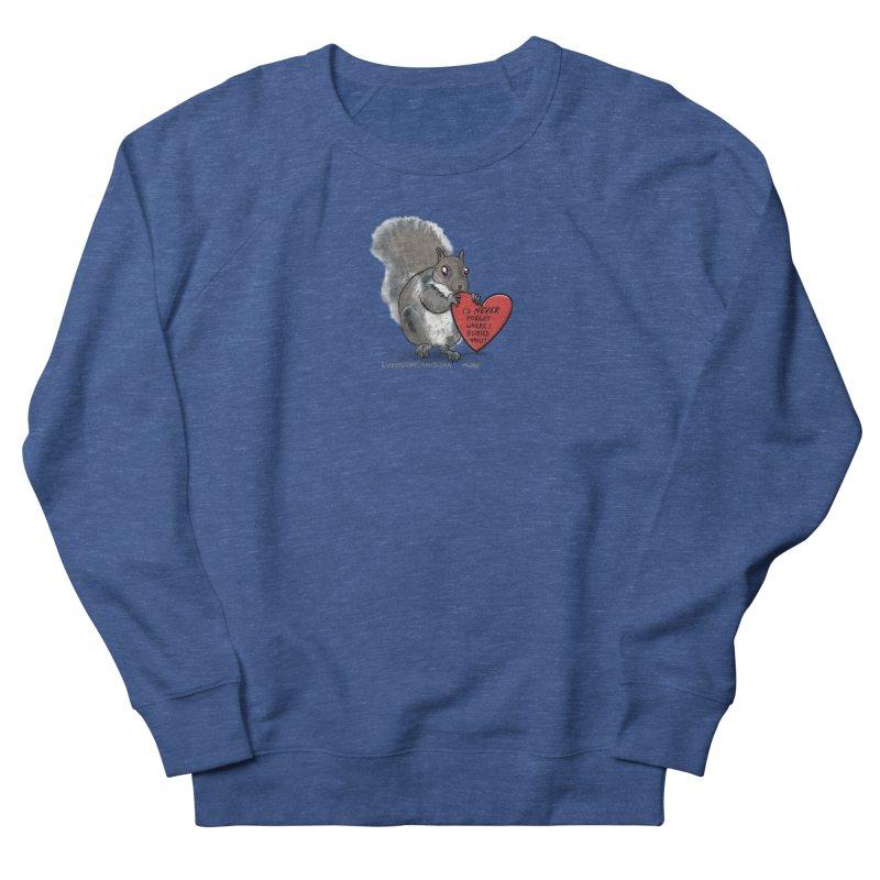 ValentineSquirrel Men's Sweatshirt by The Underdone Comics Shop