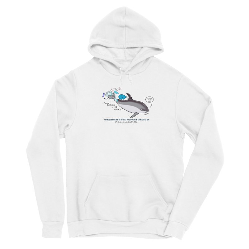Plastic Pollution is NO FLUKE Women's Pullover Hoody by The Underdone Comics Shop