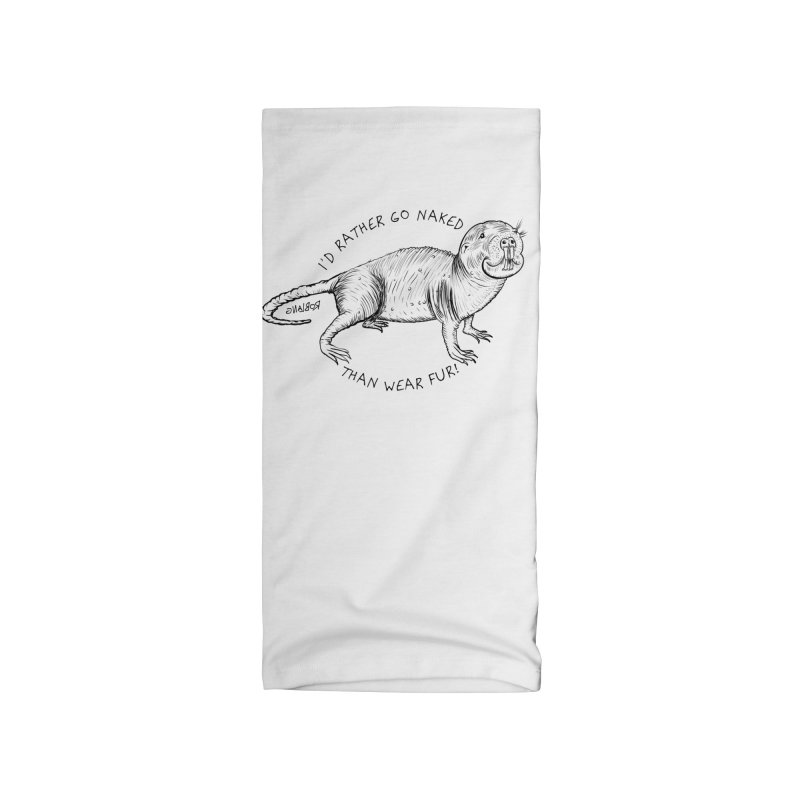 Naked Mole Rat Accessories Neck Gaiter by The Underdone Comics Shop