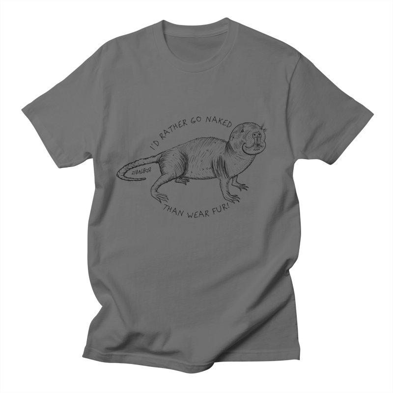 Naked Mole Rat Men's T-Shirt by The Underdone Comics Shop