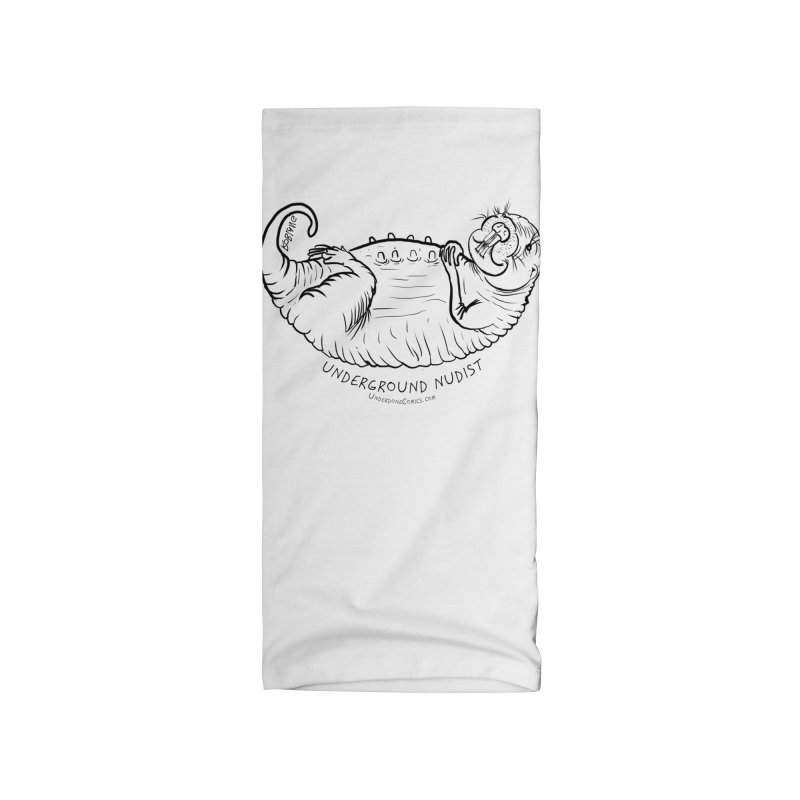 Naked Mole Rat Queen Accessories Neck Gaiter by The Underdone Comics Shop