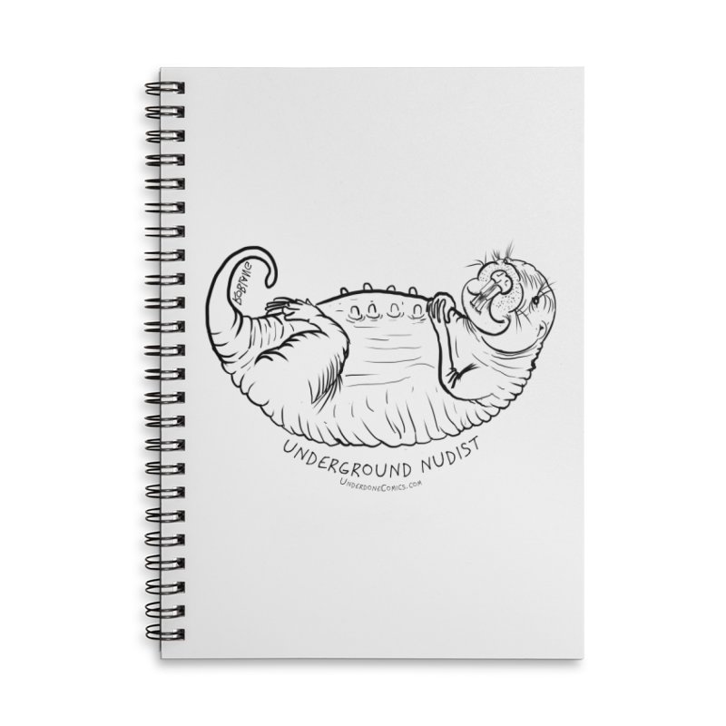 Naked Mole Rat Queen Accessories Notebook by The Underdone Comics Shop