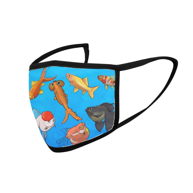 Some Fancy Goldfish Accessories Face Mask by The Underdone Comics Shop