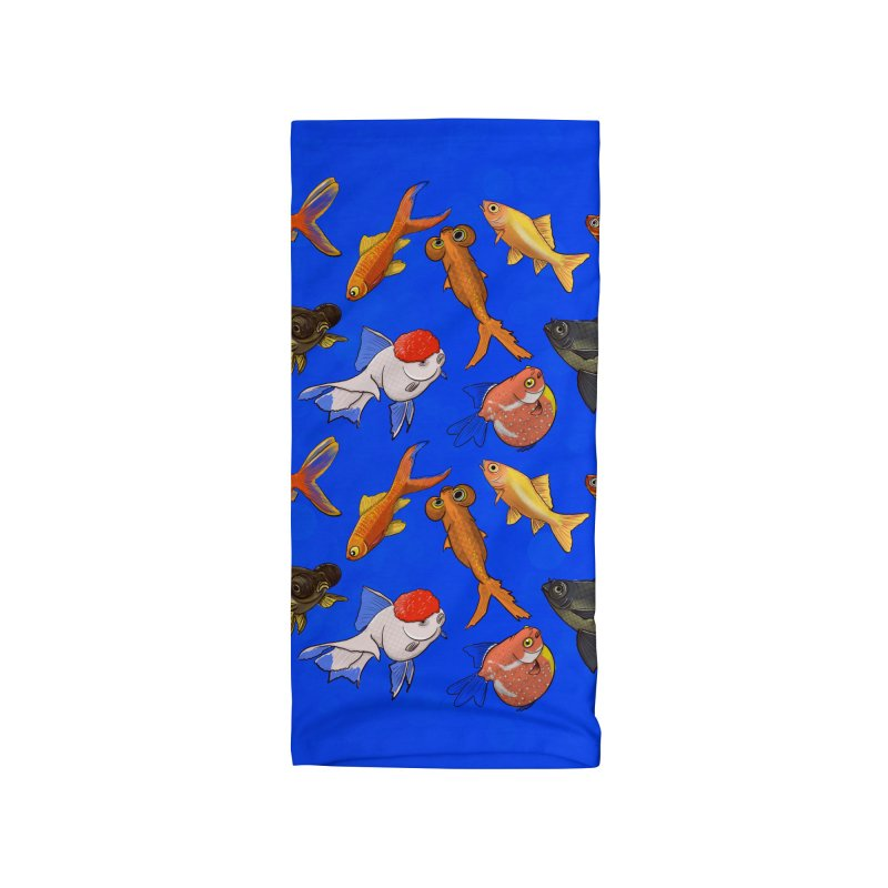 Some Fancy Goldfish Accessories Neck Gaiter by The Underdone Comics Shop