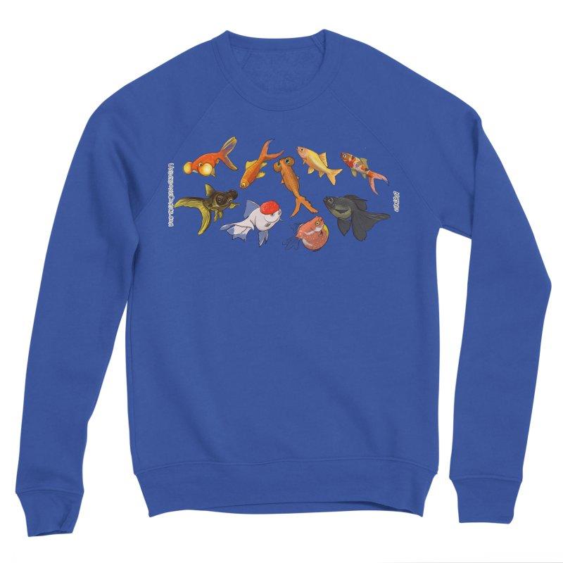 Some Fancy Goldfish Men's Sweatshirt by The Underdone Comics Shop