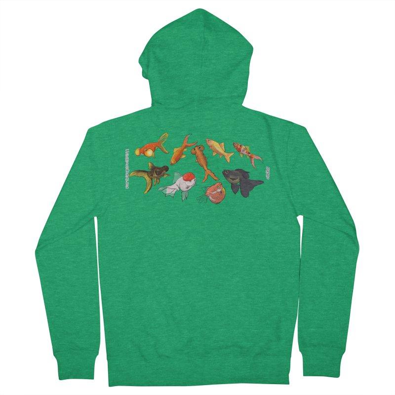Some Fancy Goldfish Men's Zip-Up Hoody by The Underdone Comics Shop