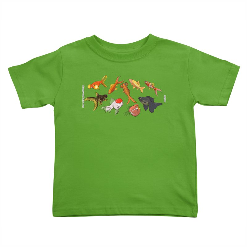 Some Fancy Goldfish Kids Toddler T-Shirt by The Underdone Comics Shop