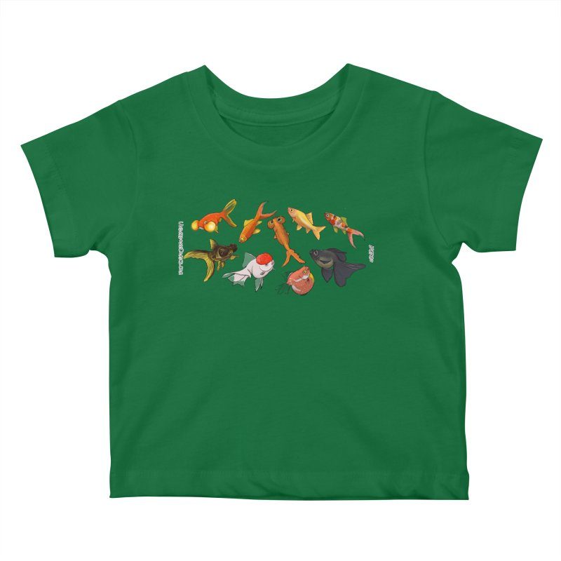 Some Fancy Goldfish Kids Baby T-Shirt by The Underdone Comics Shop