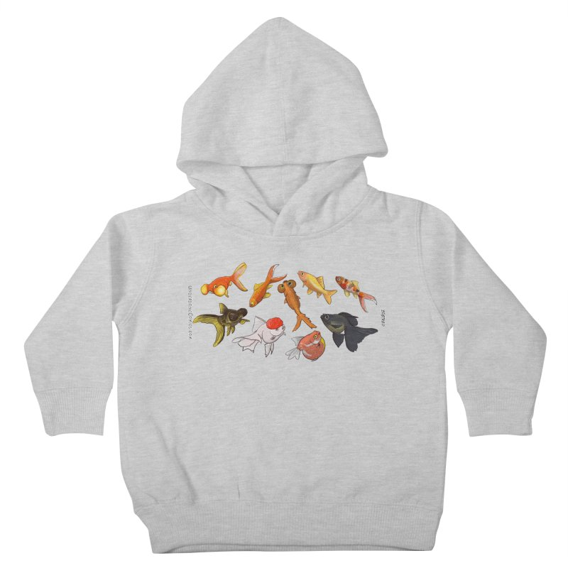 Some Fancy Goldfish Kids Toddler Pullover Hoody by The Underdone Comics Shop