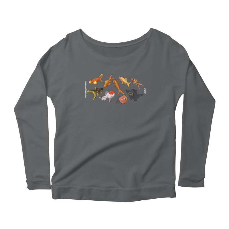 Some Fancy Goldfish Women's Longsleeve T-Shirt by The Underdone Comics Shop