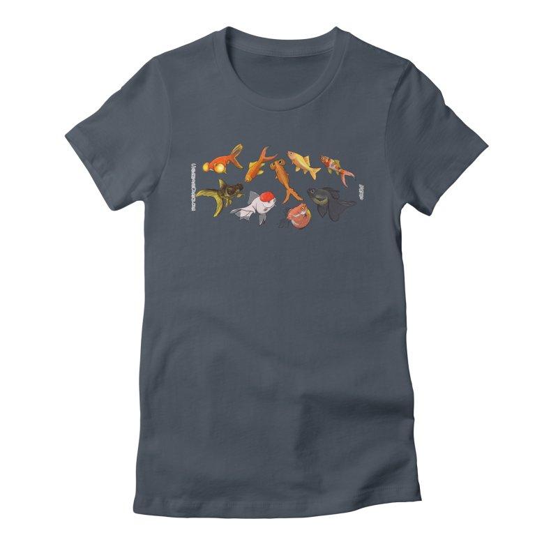 Some Fancy Goldfish Women's T-Shirt by The Underdone Comics Shop