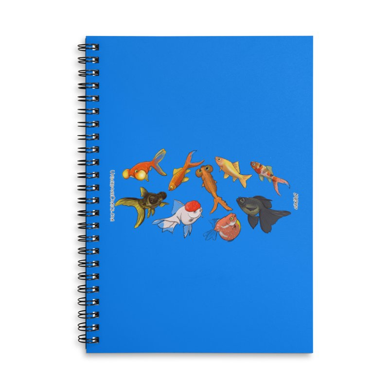 Some Fancy Goldfish Accessories Notebook by The Underdone Comics Shop