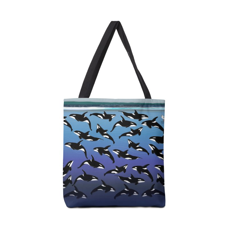Some Orcas Swimming Around Accessories Bag by The Underdone Comics Shop