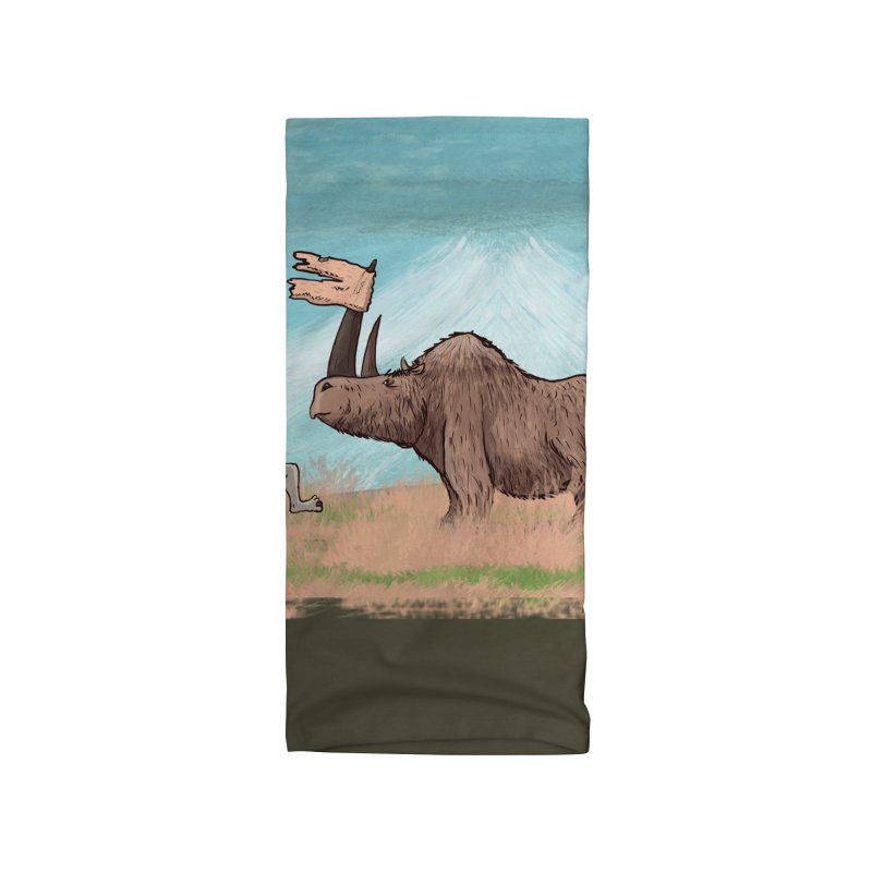 Woolly Rhino's Got Your Pants! Accessories Neck Gaiter by The Underdone Comics Shop