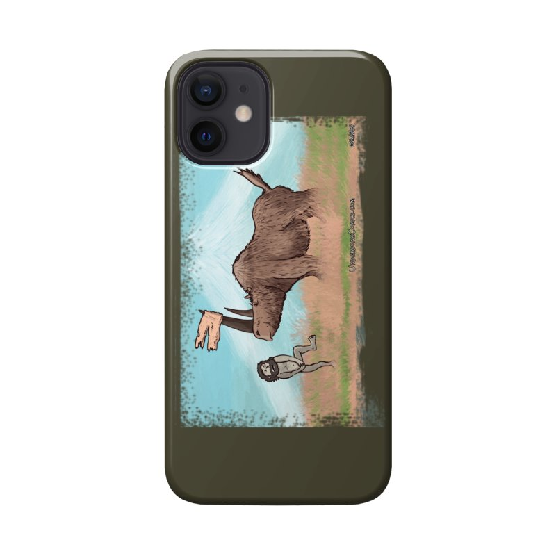 Woolly Rhino's Got Your Pants! Accessories Phone Case by The Underdone Comics Shop