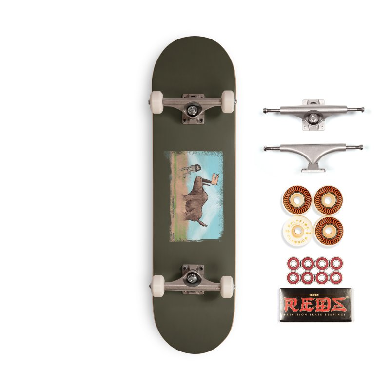 Woolly Rhino's Got Your Pants! Accessories Skateboard by The Underdone Comics Shop