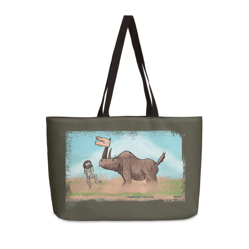 Woolly Rhino's Got Your Pants! Accessories Bag by The Underdone Comics Shop