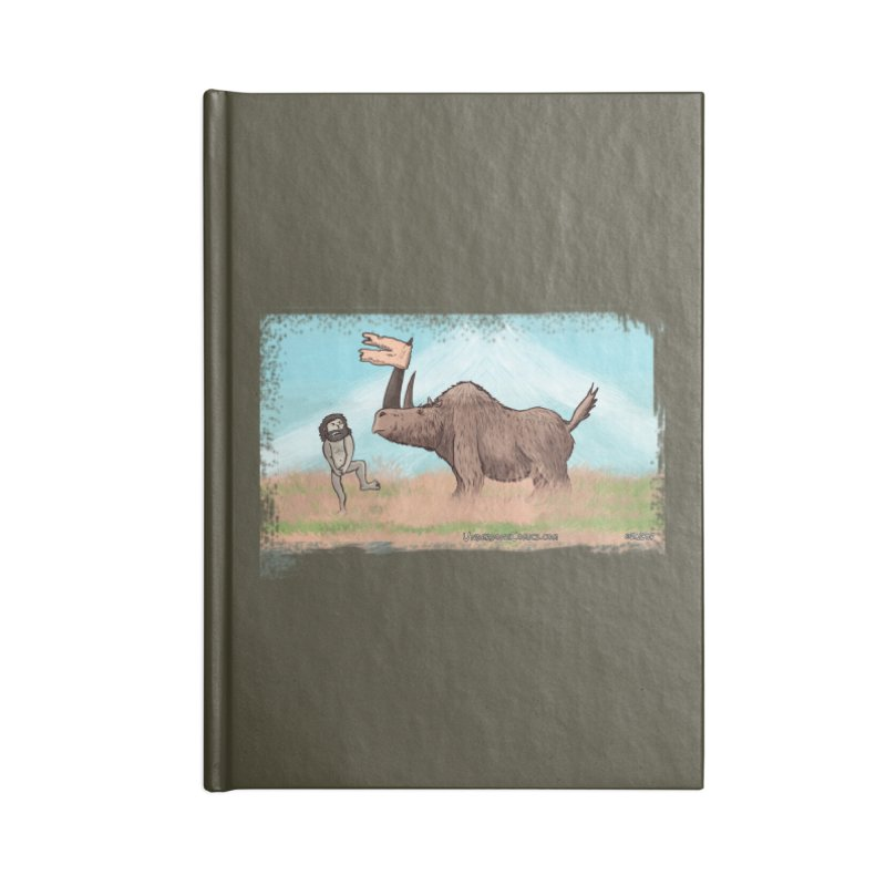 Woolly Rhino's Got Your Pants! Accessories Notebook by The Underdone Comics Shop