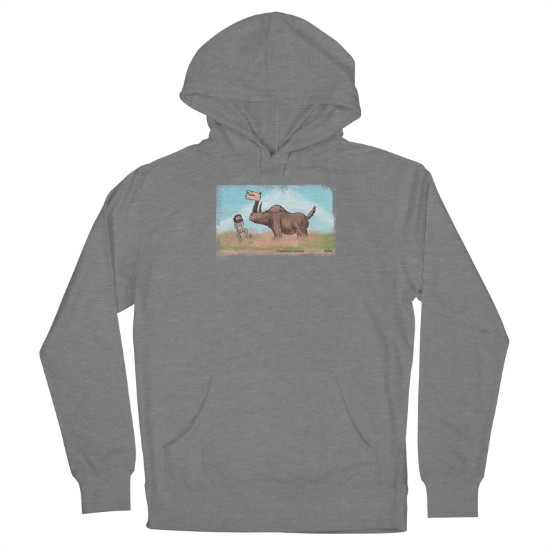 Woolly Rhino's Got Your Pants! Women's Pullover Hoody by The Underdone Comics Shop