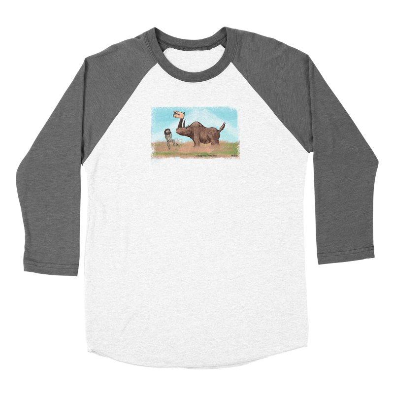 Woolly Rhino's Got Your Pants! Women's Longsleeve T-Shirt by The Underdone Comics Shop