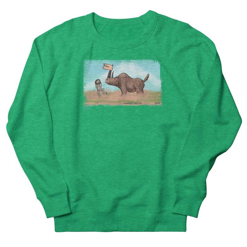 Woolly Rhino's Got Your Pants! Women's Sweatshirt by The Underdone Comics Shop
