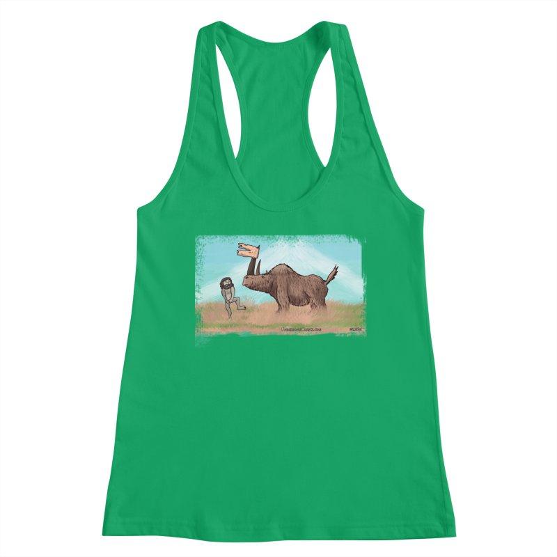 Woolly Rhino's Got Your Pants! Women's Tank by The Underdone Comics Shop