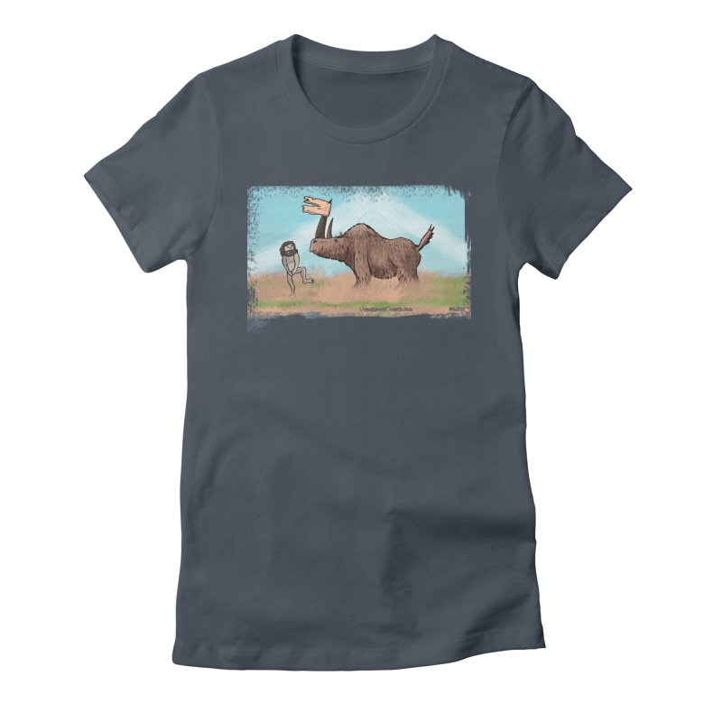 Woolly Rhino's Got Your Pants! Women's T-Shirt by The Underdone Comics Shop