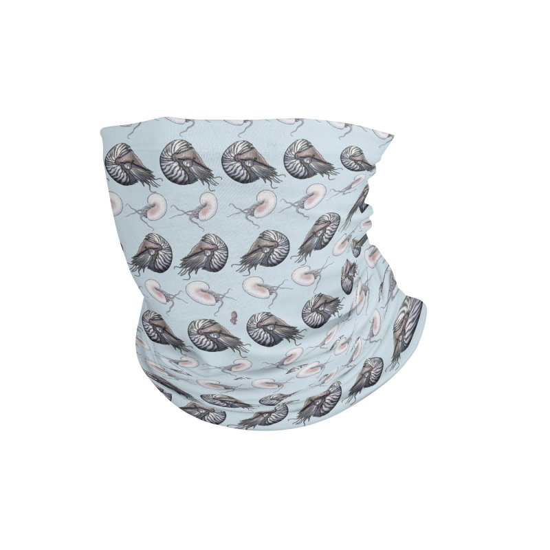 Nautilus and Argonaut Love Triangle Accessories Neck Gaiter by The Underdone Comics Shop