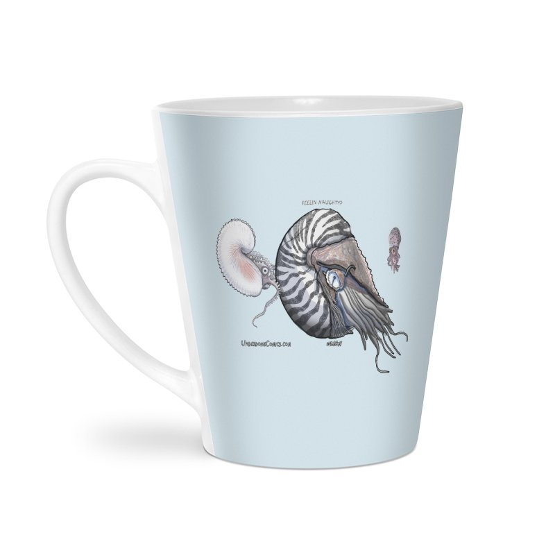 Nautilus and Argonaut Love Triangle Accessories Mug by The Underdone Comics Shop