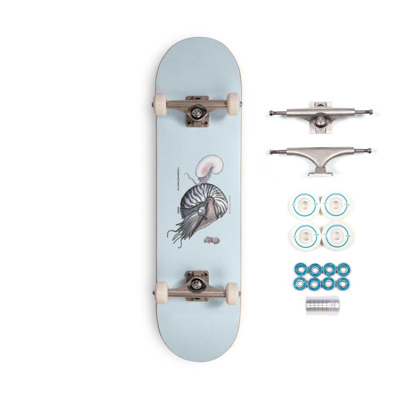 Nautilus and Argonaut Love Triangle Accessories Skateboard by The Underdone Comics Shop