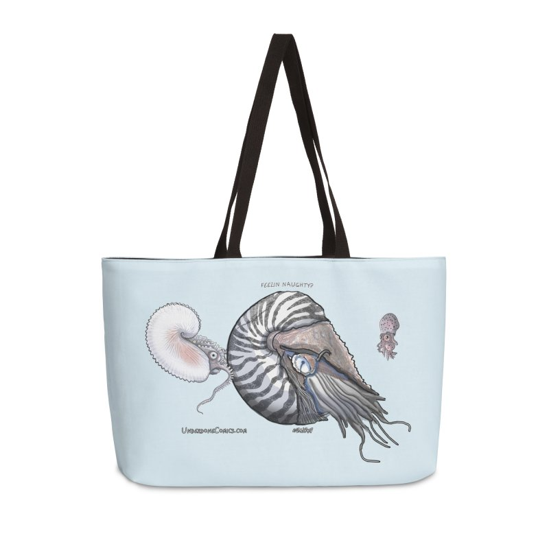 Nautilus and Argonaut Love Triangle Accessories Bag by The Underdone Comics Shop