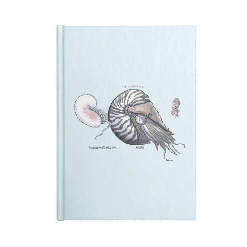 Nautilus and Argonaut Love Triangle Accessories Notebook by The Underdone Comics Shop