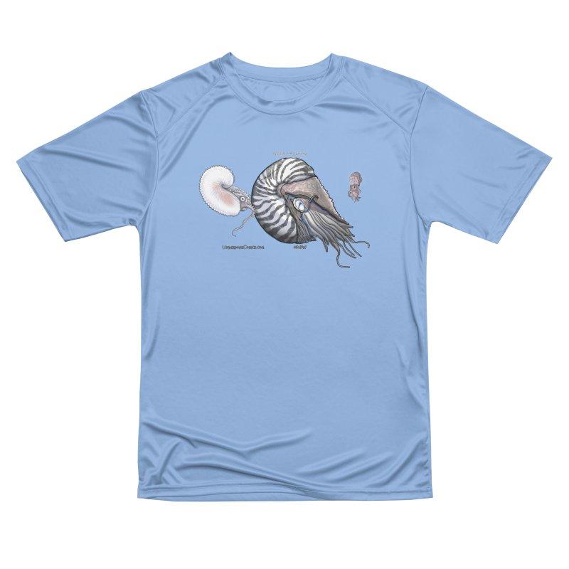 Nautilus and Argonaut Love Triangle Men's T-Shirt by The Underdone Comics Shop