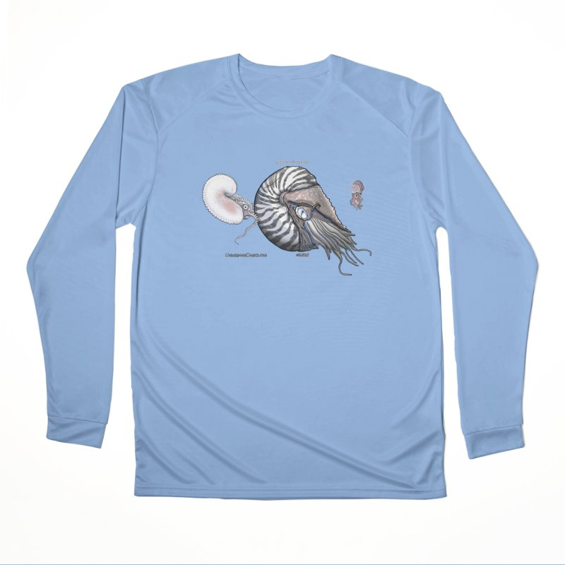 Nautilus and Argonaut Love Triangle Women's Longsleeve T-Shirt by The Underdone Comics Shop