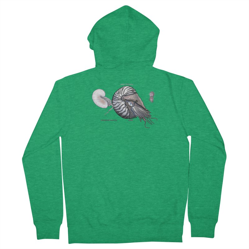 Nautilus and Argonaut Love Triangle Men's Zip-Up Hoody by The Underdone Comics Shop