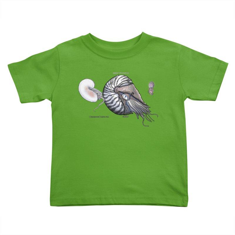 Nautilus and Argonaut Love Triangle Kids Toddler T-Shirt by The Underdone Comics Shop
