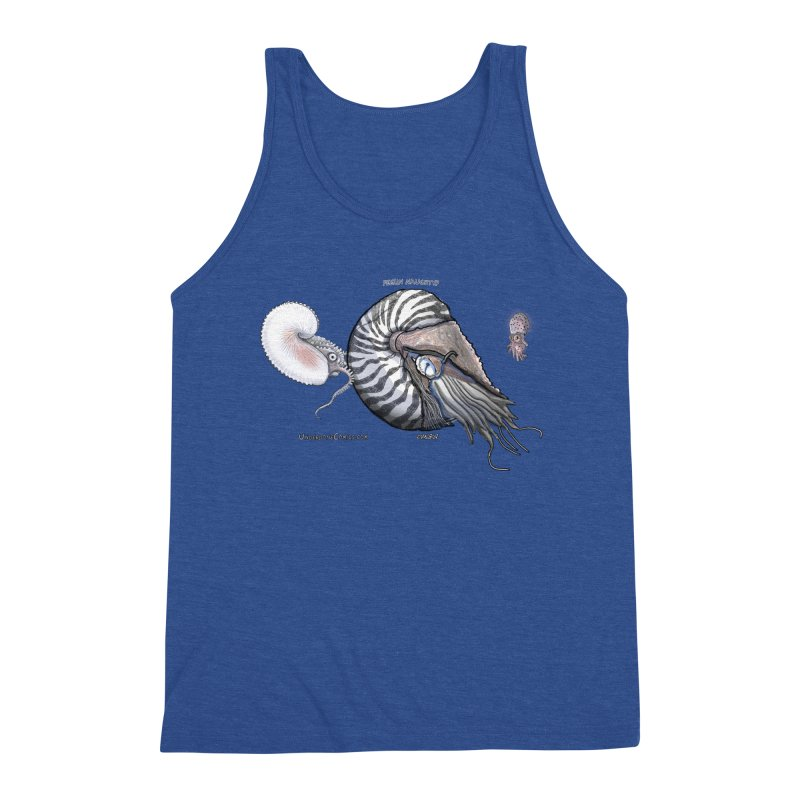 Nautilus and Argonaut Love Triangle Men's Tank by The Underdone Comics Shop