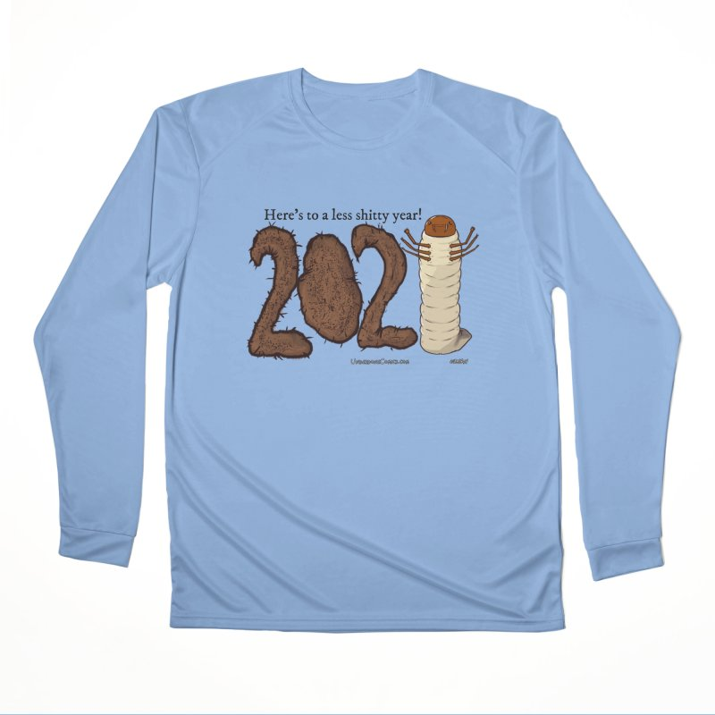 Here's to a Less Shitty Year in 2021! Men's Longsleeve T-Shirt by The Underdone Comics Shop