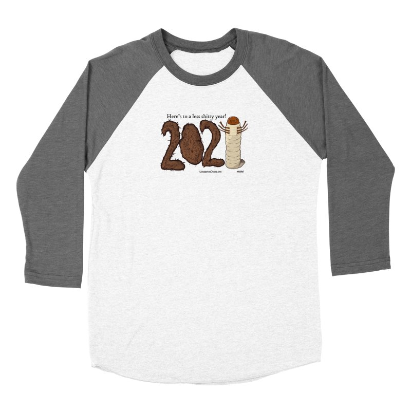 Here's to a Less Shitty Year in 2021! Women's Longsleeve T-Shirt by The Underdone Comics Shop