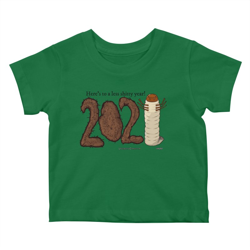 Here's to a Less Shitty Year in 2021! Kids Baby T-Shirt by The Underdone Comics Shop