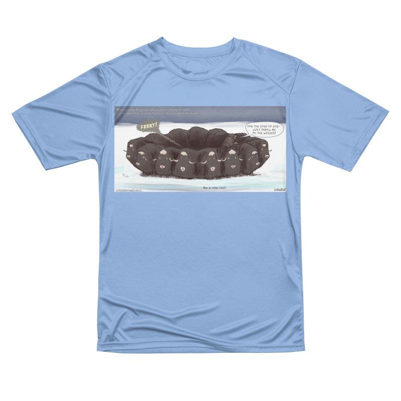 A Muskox Circle Men's T-Shirt by The Underdone Comics Shop