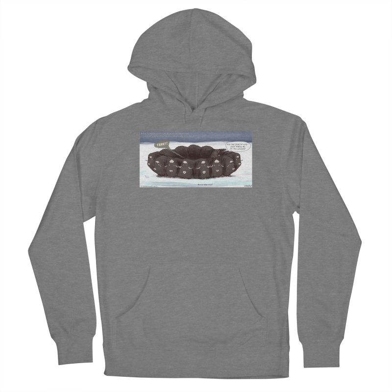 A Muskox Circle Women's Pullover Hoody by The Underdone Comics Shop