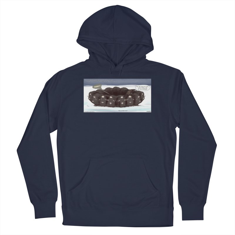 A Muskox Circle Men's Pullover Hoody by The Underdone Comics Shop